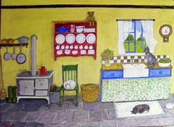 Art: Nostalgia (Sold) by Artist Fran Caldwell