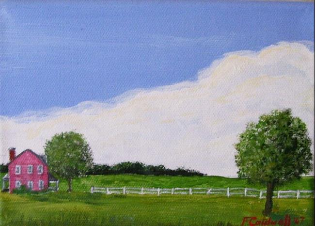 Art: Home (SOLD) by Artist Fran Caldwell