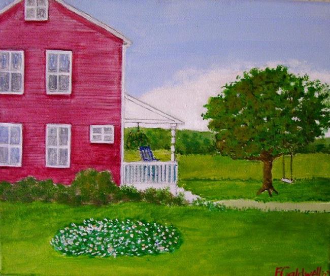 Art: Grandpop's Place (SOLD) by Artist Fran Caldwell