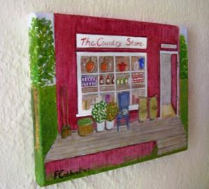 Detail Image for art The Country Store (SOLD)