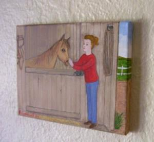 Detail Image for art The Stable (Sold)