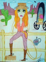 Art: Broodin' Belle by Artist Jennifer Lee