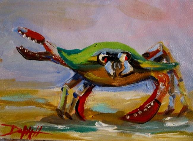 Art: Crab Wave by Artist Delilah Smith