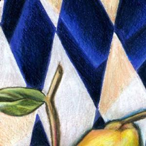 Detail Image for art The Cubic Pear