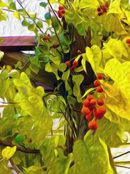 Art: Autumn's Song is Bittersweet by Artist Alma Lee