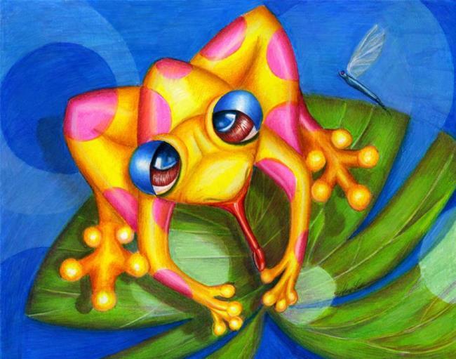 Art: FROGGIE Fantastic by Artist Alma Lee