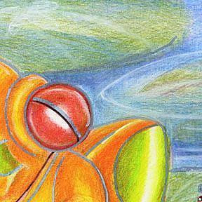 Detail Image for art Froggie Polka Dot