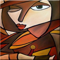 Art: Somewhat Familiar - CU27 by Artist Thomas C. Fedro