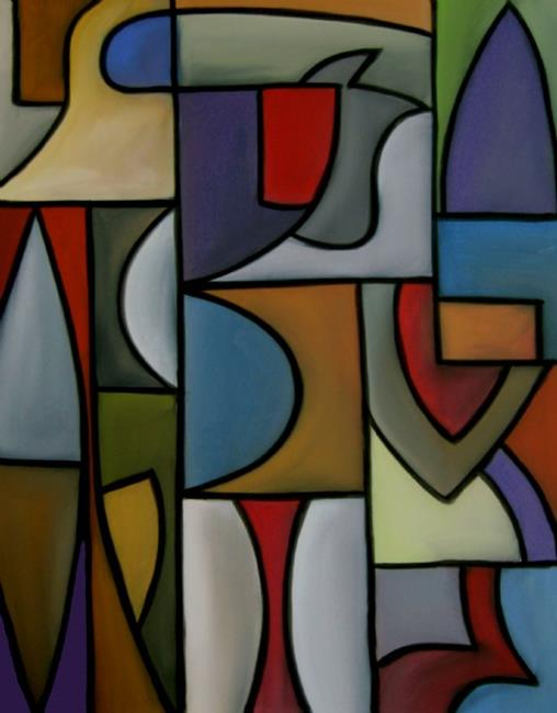 Cubist 9 by thomas c fedro from contemporary cubism art gallery - Awaiting Movement By Thomas C Fedro From Cubist