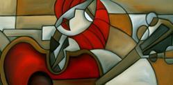 Art: Playing By Ear by Artist Thomas C. Fedro