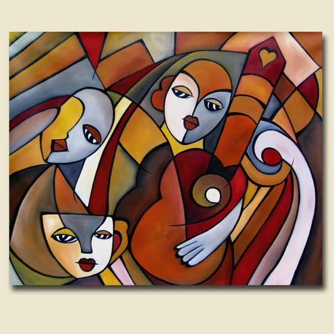 Cubist 9 by thomas c fedro from contemporary cubism art gallery - Play For Me By Thomas C Fedro From Contemporary Cubism
