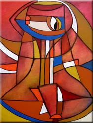 Art: In My Prayers - C29 by Artist Thomas C. Fedro
