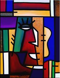 Art: Validation - Cubist 17 by Artist Thomas C. Fedro