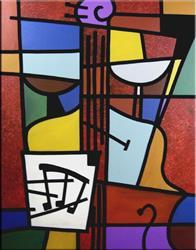 Art: Minuet - Cubist 19 by Artist Thomas C. Fedro