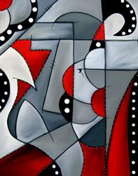 Art: Industrial Quilt by Artist Thomas C. Fedro