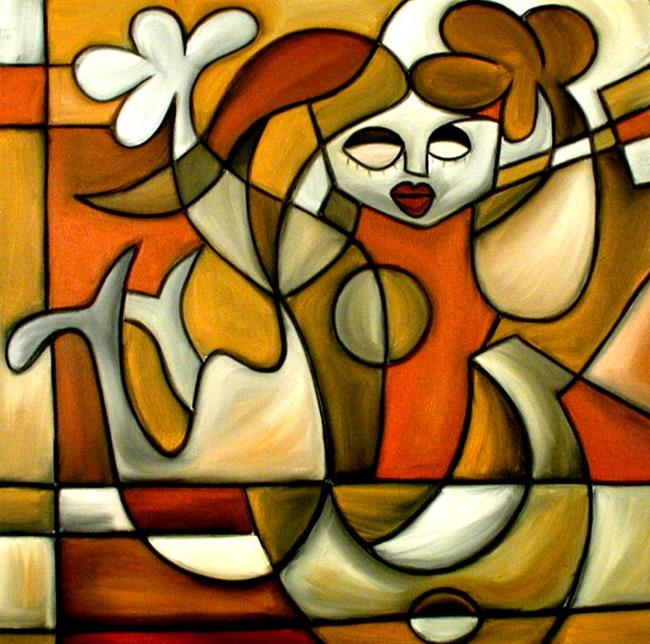 Art: Cubist 5 by Artist Thomas C. Fedro