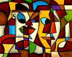 Art: Cubist 9 by Artist Thomas C. Fedro