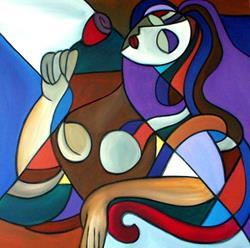 Art: Cubist 12 by Artist Thomas C. Fedro