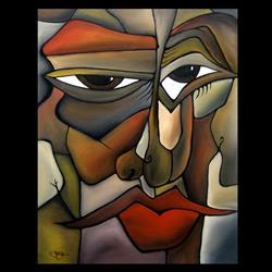 Art: Cubist 104 2228 Rockstar 2 by Artist Thomas C. Fedro