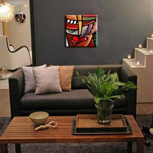 Detail Image for art Cubist 109 2020 Original Cubist Art Slipstream
