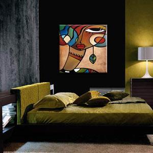 Detail Image for art Cubist 112 3030 Original Cubist Art Interlude
