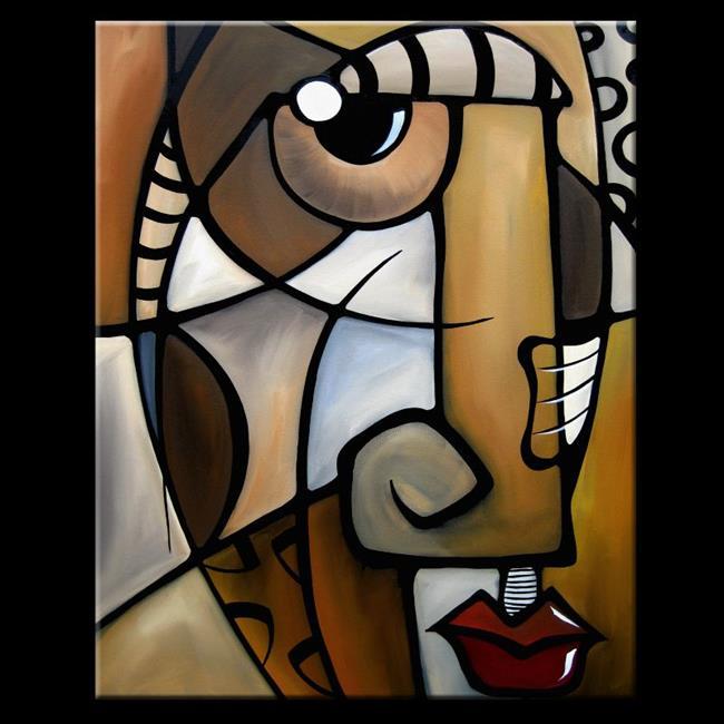 cubist style art