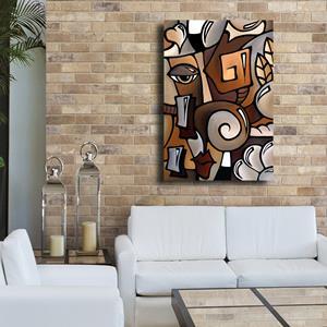 Detail Image for art Cubist 141 2436 GW Original Cubist Art OCD