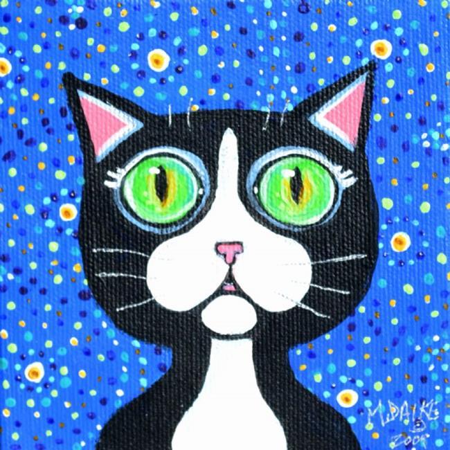 Art: Tux Star 3 by Artist Melinda Dalke