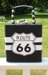 Art: Get Your Kicks on Route 66........and then some! by Artist Kris Jean
