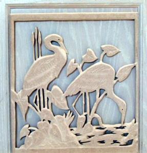 Detail Image for art Custom Made Kitchen Cabinet Door Plaques