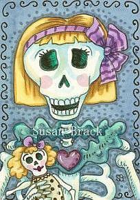 Art: MARY JANE by Artist Susan Brack