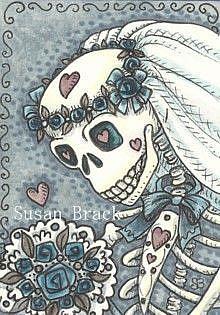Art: TILL DEATH DO WE PART by Artist Susan Brack