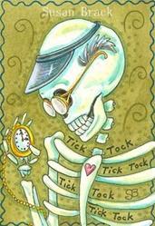 Art: WATCH MAKER by Artist Susan Brack