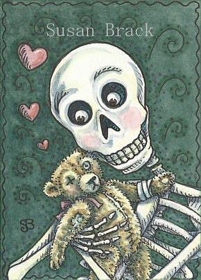 Art: OLD FRIENDS by Artist Susan Brack