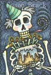 Art: HAPPY BIRTHDAY TO ME by Artist Susan Brack