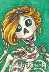 Art: SHE WAS DROP DEAD GORGEOUS by Artist Susan Brack