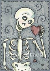 Art: HEART STRING by Artist Susan Brack
