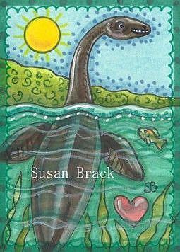 Art: FOR LOVE OF NESSIE by Artist Susan Brack
