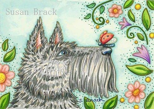 Art: HELLO by Artist Susan Brack