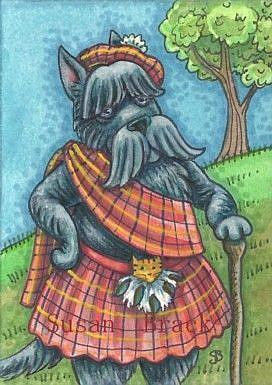 Art: SCOTTISH PRIDE by Artist Susan Brack
