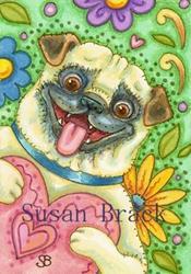Art: BE MINE by Artist Susan Brack