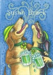 Art: A LITTLE BIT IRISH by Artist Susan Brack