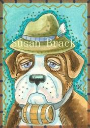 Art: ALWAYS PREPARED by Artist Susan Brack