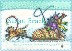 Art: MUSH KITTY KITTY by Artist Susan Brack