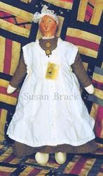 Art: CLOVIS Primitive Folk Art Doll by Artist Susan Brack