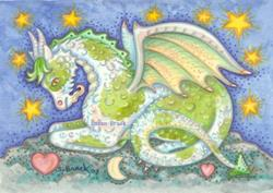 Art: YEARLING Dragon by Artist Susan Brack