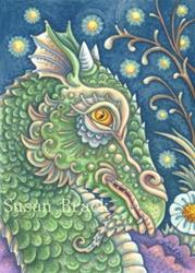 Art: EDWIN'S DRAGON by Artist Susan Brack