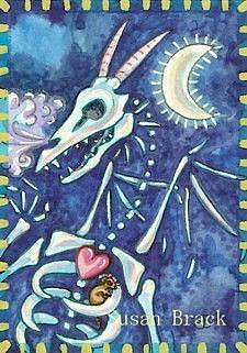 Art: DRAGON BONES by Artist Susan Brack