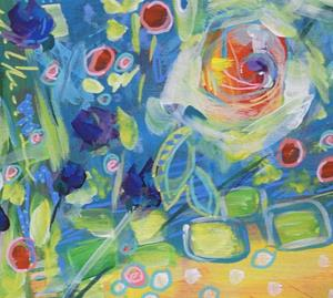 Detail Image for art When Life Gifts You Roses - Spring in Your Step Series