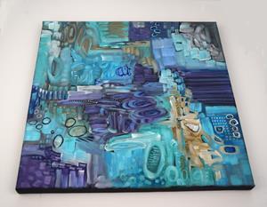 Detail Image for art Tide Pools ~ Low Tide Series - Sold